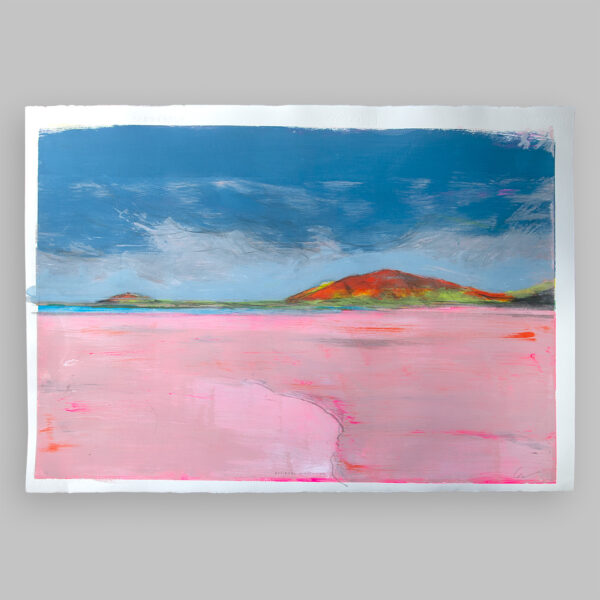 Donegal Coast (Pink) A – full image