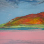 Donegal Coast (Pink) B – detail