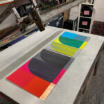 'Follyfoot I & II' – separated prints as diptych