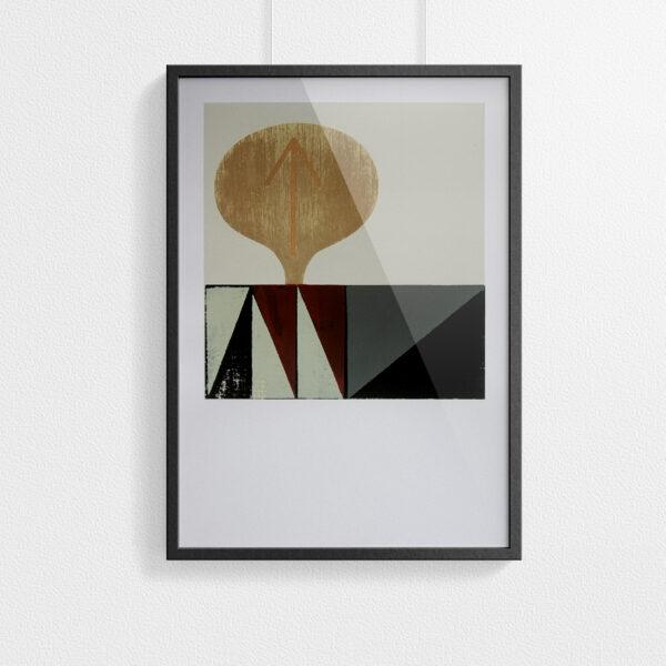 'Katy' – full print – framed