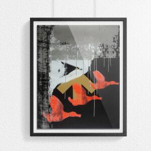 'Kitsch' Full print image – framed