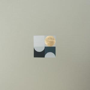 'Orbs – 1' – full printed area