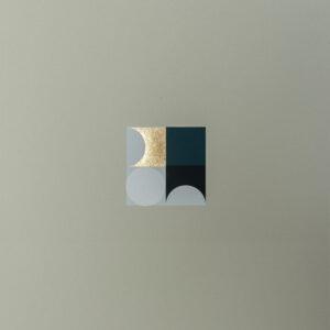 'Orbs – 2' – full printed area