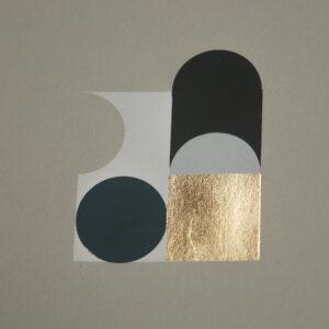 'Orbs – 4' – full printed area