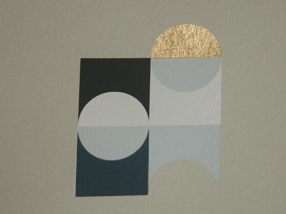 'Orbs – 6' – full printed area