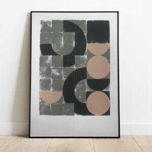 'All the things' – full image, framed