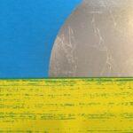 'Dawn 2 - Green' - partially printed