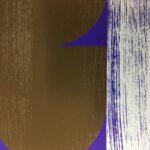 'Dawn 2 - Blue' partially printed