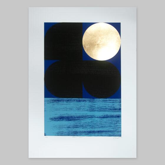 'Dawn 2 - Blue' Full print view