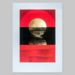 'Dawn 2 - Red' Full print view