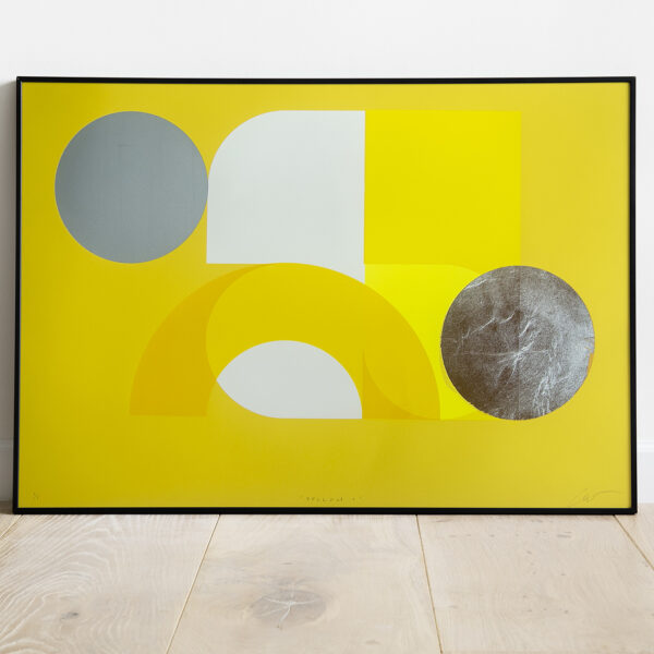 'Yellow 1' - Full framed image view