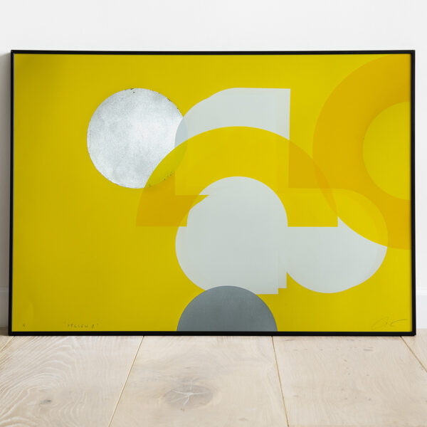 'Yellow 2' - Full framed image view